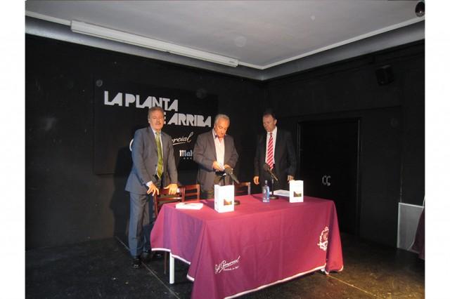 Manuel Campo Vidal, José Manuel Delgado y Carlos Mora