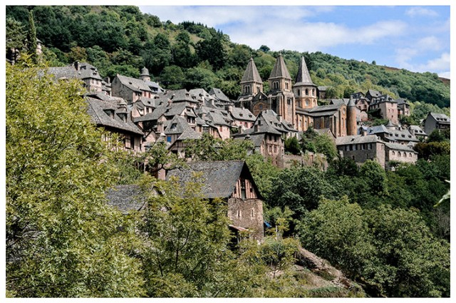 Conques en Rouergue